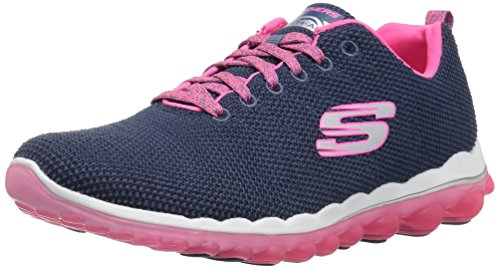 - Skechers Sport Women's Skech Air 2.0 Next Chapter Sneaker,navy hot pink,7.5 M US