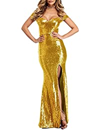 Little Star Women's Off The Prom Dress Mermaid Evening Gowns Party Ball Gown