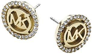 Michael Kors Women's MK Logo Stud Earring