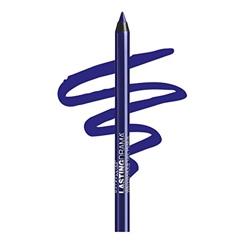 Maybelline New York Eyestudio Lasting Drama Waterproof Gel Eye Pencil, Lustrous Sapphire, 0.04 Ounce - 0.04 Ounce Eyeliner Pencil