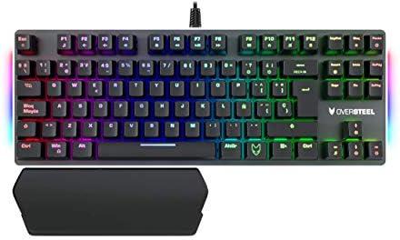 Oversteel Titanium Tkl Mechanische Gaming Tastatur Computer Zubehör
