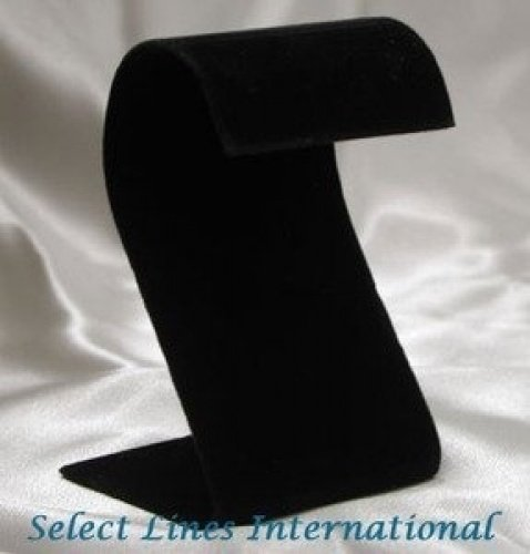 NEW Black Velvet S Earring Stand Jewelry Display !!! Nile 4302608118