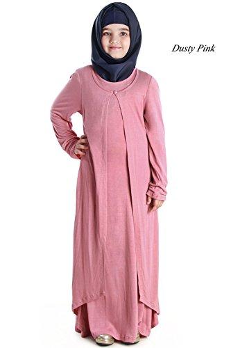 MyBatua-Pink-Baby-Abaya-Muslim-Kids-Casual-Formal-Wear-Burqa-Dress-AY-563-K