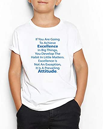 Achieve Excellence Round Neck T-Shirt For Kids 13-14 Years