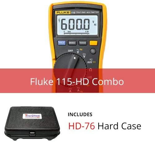 Fluke 115-HD True RMS Multimeter with Hard Case