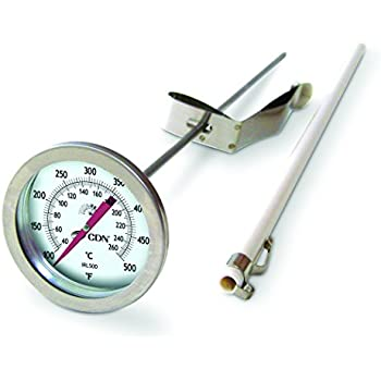 CDN IRL500 Long Stem Fry Thermometer - Insta-Read, Turkey Fry