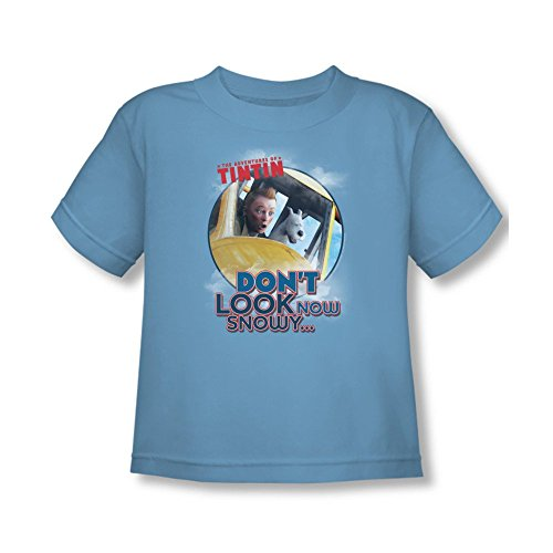 The Adventures Of Tintin Don't Look Now Toddler T-shirt 4t