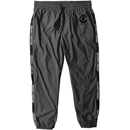 Crooks & Castles Mens Sideline Sweat Pants X-Large Black