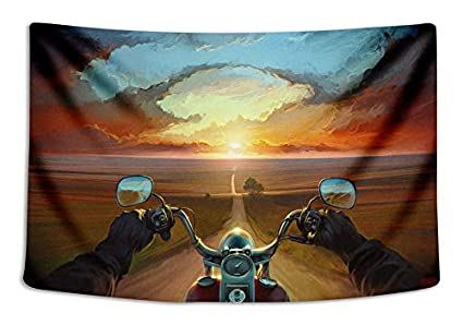 001 Tapestry Wall Cloth Fabric Hanging Bohemian For Bedroom Dorm Apartment Decoration Live Background Psychedelic Trippy Colorful Trippy Surreal Abstract Astral Digital Hemp Art 153x102cm 60x40inch