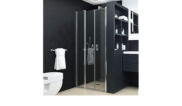 ESG - Puertas de ducha (100 x 185 cm), transparente: Amazon.es ...