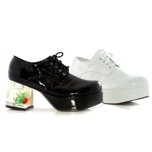Pimp Adult Costume Shoes White - (Pimp Costume Shoes)