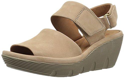 CLARKS Damen Darleigh Cora Sneaker Grau