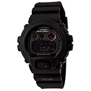 Casio DW6900MS-1V  G-Shock Matte Black Resin Strap Mens Watch