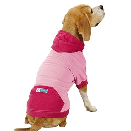 Guardian Gear Insect Shield Pullover Pet Apparel, Large, Pink