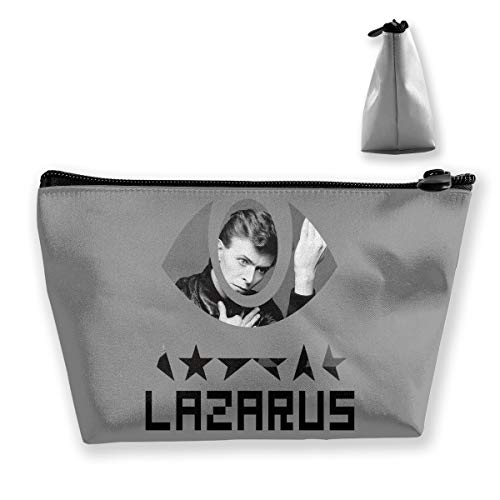 Lazarus Last Release Parting Gift David Bowie Souvenir Portable Travel Cosmetic Bags Makeup Organizer With Zipper ()