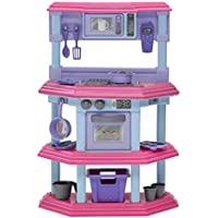American Plastic Toys Play Kitchen
