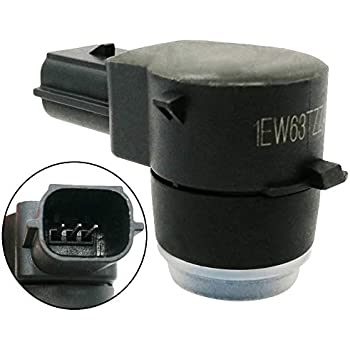 Replaces #1EW63TZZAA OrionMotorTech 4 PCS Reverse Backup Parking Assist Sensor Rear Bumper Object Sensor for Dodge Chrysler Jeep