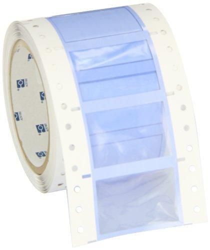 Brady PS-750-2-WT-S PermaSleeve Wire Marking Sleeves, 1.250'' Height, 2.00'' Width, Polyolefin (B-342) White (Roll of 100) by Brady