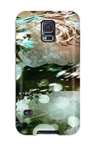 Galaxy S5 Hard Back With Bumper Silicone Gel Tpu Case Cover Vocaloid
