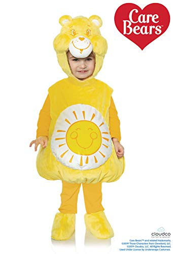 Yellow Care Bear Costume (Care Bears Funshine Bear Toddler's Costume)