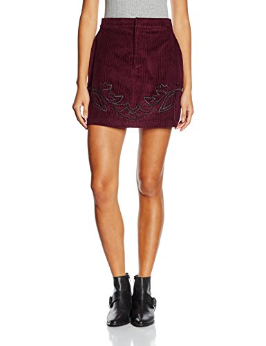 Minkpink Valley of the Vine Skirt, Falda para Mujer Rojo