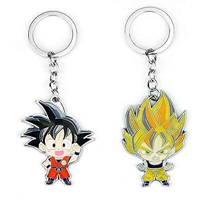Amazon.com : Chain Necklaces - Anime Dragon Ball Keychain ...
