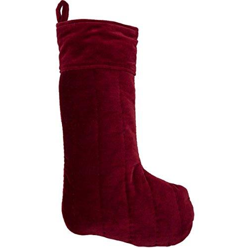 Red Velvet Stocking - 1