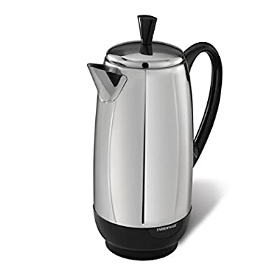 Farberware FCP412 12-Cup Percolator, Stainless Steel