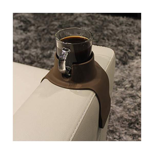 COUCHCOASTER – Le Porte-gobelet Ultime pour Votre Sofa, Couleur café