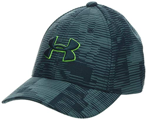 Under Armour Boy's Printed Blitzing 3.0 Hat, Dust//Batik, Small/Medium