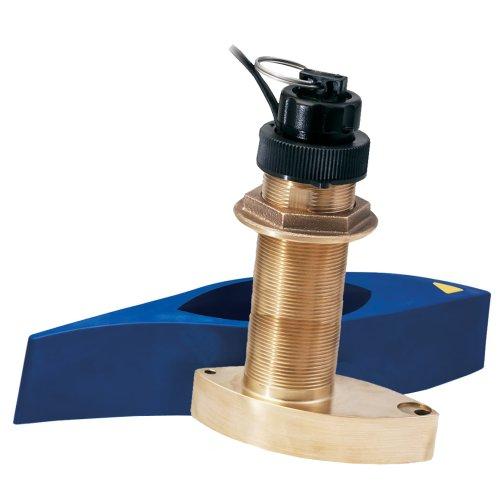 Garmin B744VL Long Stem Bronze Thru-Hull Depth/Temp/Speed w/FB - 8 Pin (43550)