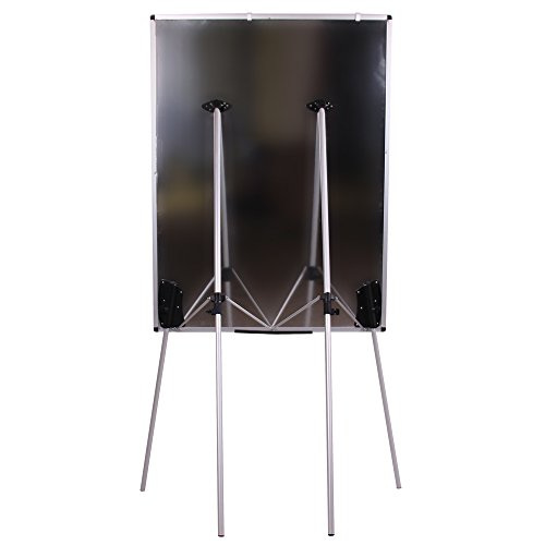 VIZ-PRO Light Magnetic Four Legs Stand Whiteboard/Flipchart Easel,36'' W x 48'' L by VIZ-PRO (Image #3)
