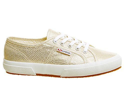 Women's Superga Gold Low top Animalnetw Sneakers 2750 Yellow AWqOFzp