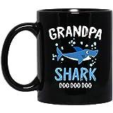 Grandpa Shark Doo Doo Halloween Coffee Mug Decorations Gifts