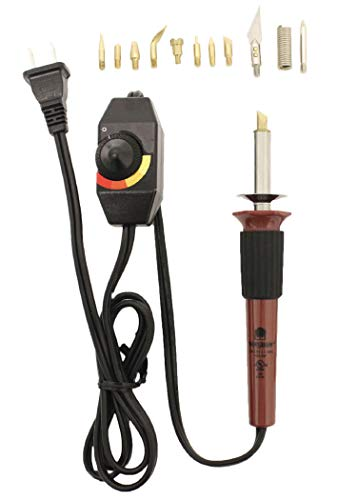 Walnut Hollow Creative Versa Tool with Versa-Temp Variable Temperature Control & 11 Woodburning Points (Tips)