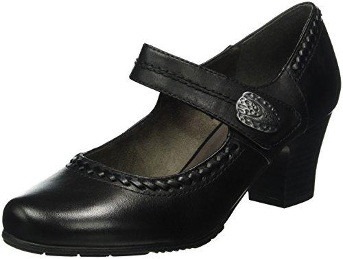 Zapatos azul marino con velcro Jana para mujer lmB8ImY
