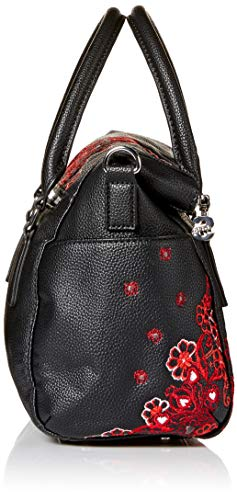 Noir noir sac Desigual foulard loverty Negro manuela 18waxpcc x7YdqdwXS