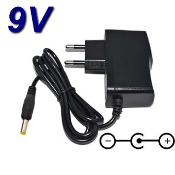 Top cargador® Adaptador alimentación cargador 9 V para ...