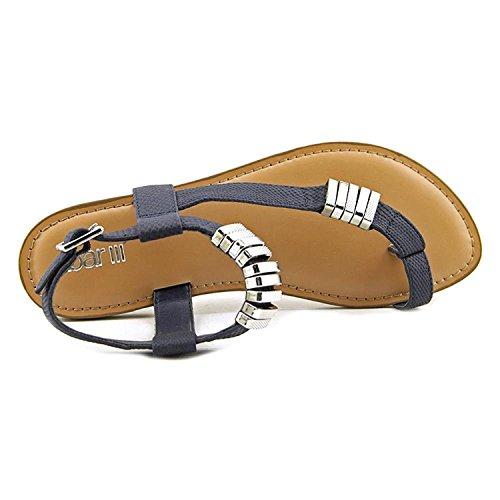 Bar Iii Donna Verna Open Toe Casual Sandali Con Cinturini Blu Scuro