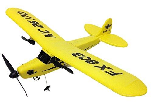 [해외] 2ch 세스나형 라디오 컨트롤 33cm 의 빅사이즈 파이 파 J-3 (카부)카브 전동 비행기