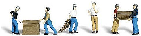 - Woodland Scenics - Dock Workers (HO Scale) - A1823