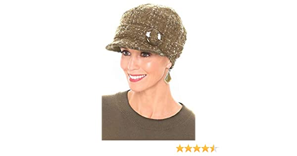 227e337c3987c Headcovers Unlimited Raelynn Newsboy Hat - Winter Hats for Women - Cancer  Patients
