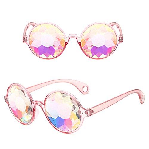 Color1 Protéger Vintage Yeux Cristal Steampunk Emhu Des Lentilles Rainbow Goggles Lunettes Kaleidoscope En Soudage 1vwOUqB