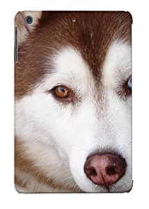 Premium Protection Husky Eyes Case Cover With Design For Ipad Mini/mini 2- Retail Packaging