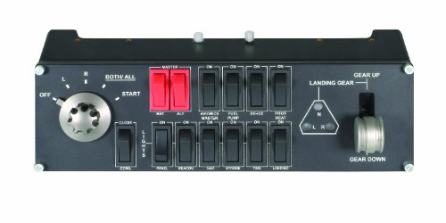 - Logitech 945-000030  G Pro Flight Switch Panel