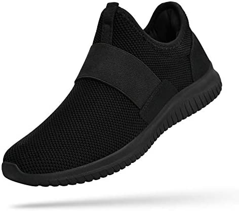 Troadlop Mens Sneakers Slip on Shoes Men Laceless Sport Shoes for Men Knit Breathable Running Walking Athletic Shoes 2