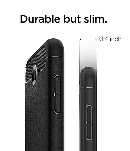 Spigen Rugged Armor Galaxy J7 2017 Case, J7 Prime, J7 2017(AT&T), J7 Sky Pro, J7 Perx case with Resilient Shock Absorption and Carbon Fiber Design for Samsung Galaxy J7 V 2017 - Black by Spigen (Image #6)
