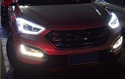 Amazon Com Gowe Car Styling For Hyundai Ix45 Led Headlight New
