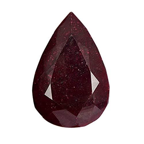 1375 Ct. Natural Pear Cut African Pigeon Blood Red Ruby Loose Gemstone Gemstone J-5289