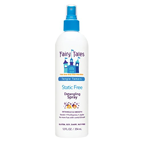 Fairy Tales Tangle Tamer Static Free  Detangling Spray for Kids – 12 oz
